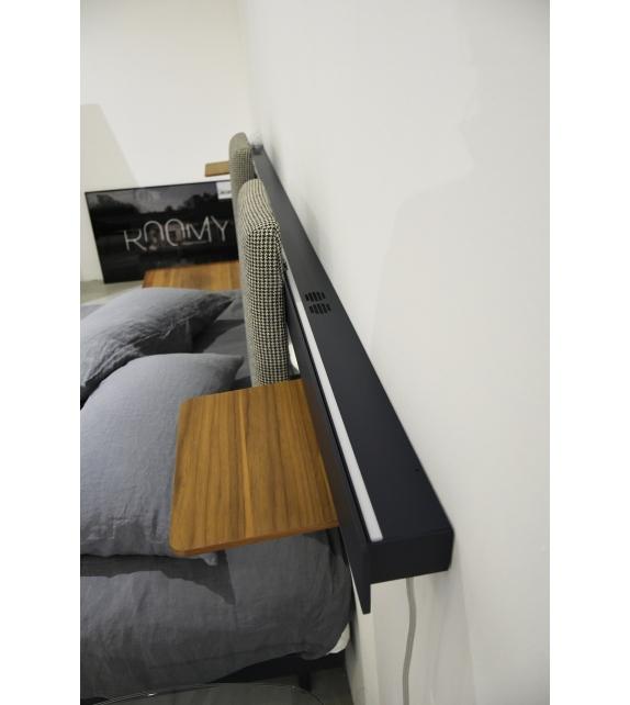 In Ausstellung - Groove Caccaro Bett