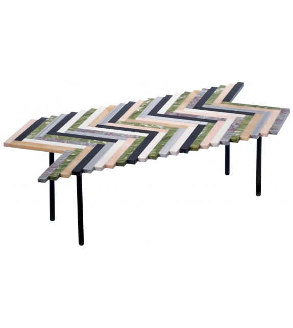 Zig Zag Budri Coffee Table