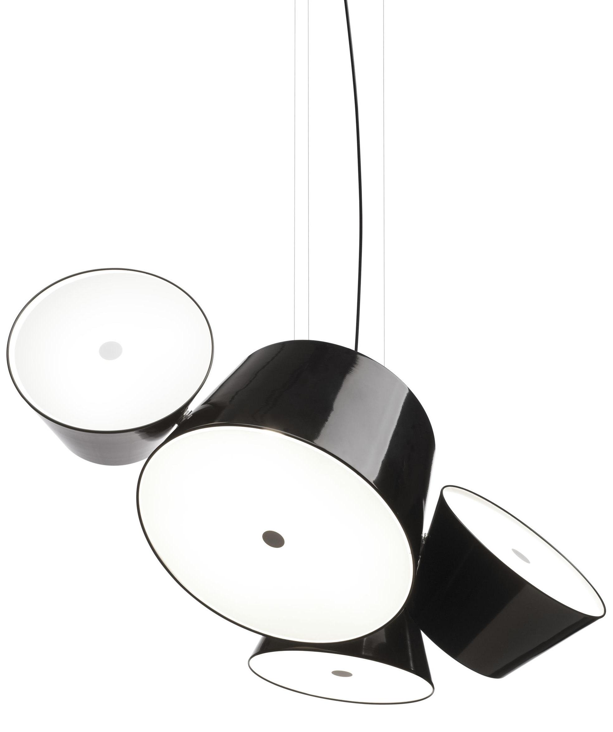 Lampe Suspension Papier Design tam tam 3 suspension marset - milia shop