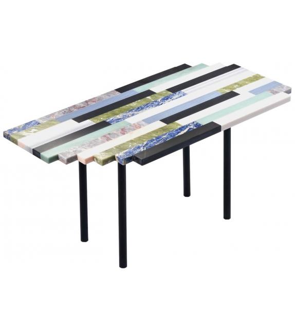 Zig Zag Linear Budri Table Basse