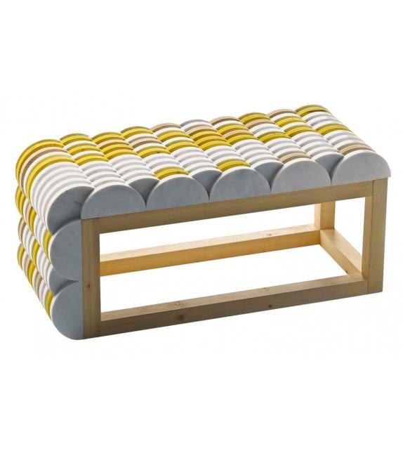 Semicircles Budri Bench