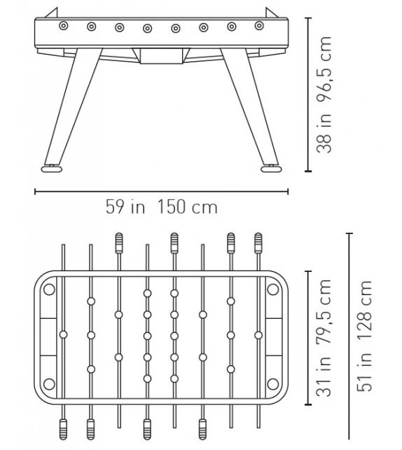 RS-2 RS Barcelona Football Table