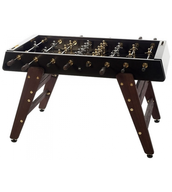 RS Barcelona RS-3 Wood Gold Football Table