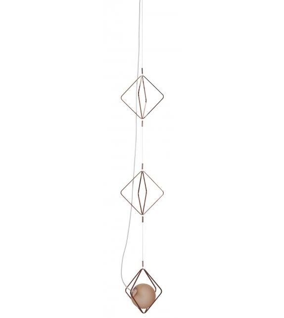 Jack O'Lantern Small Brokis Triple Pendant Lamp