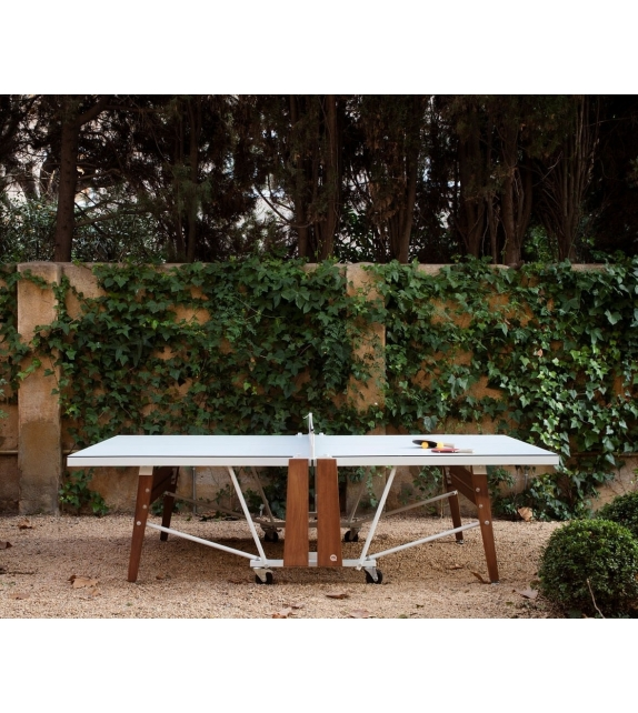 RS-Ping Pong Folding RS Barcelona Tavolo da Ping Pong