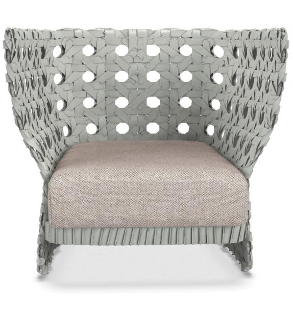 Canasta B&B Italia Outdoor Armchair With Low Back