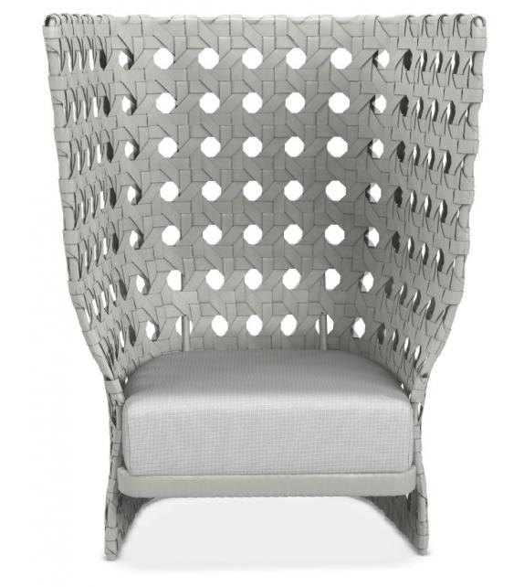 Canasta B&B Italia Outdoor Armchair With High Back