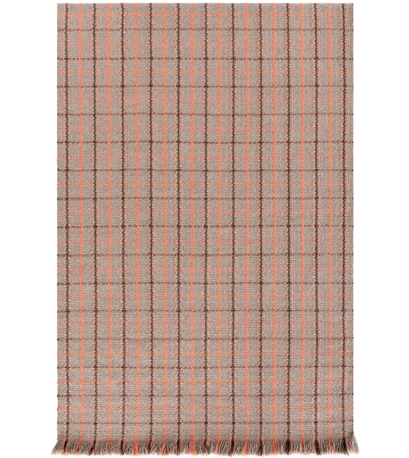 Gan Garden Layers Tartan Rectangular Rug