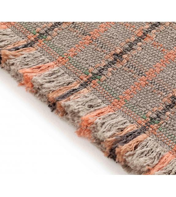 Gan Garden Layers Tartan Rectangular Rug