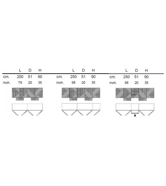 Stripes Sideboard Emmemobili