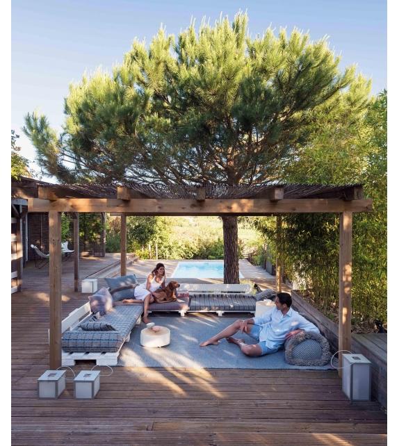 Garden Layers Gan Cuscino Cilindrico Grande