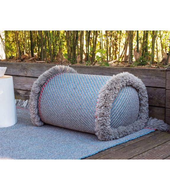 Garden Layers Gan Big Cylindrical Cushion