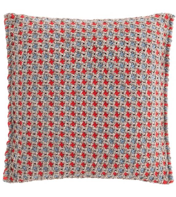 Garden Layers Gan Rectangular Cushion