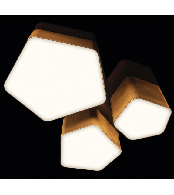 Bat Light Henge Ceiling Lamp