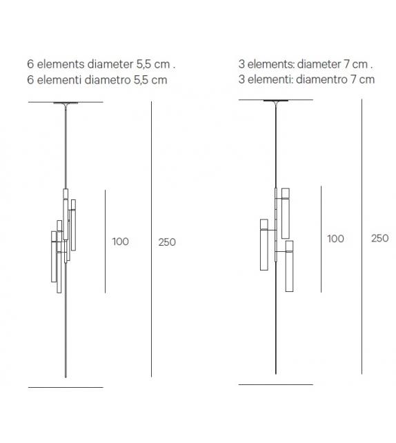 Tubular Light Henge Applique - Plafonnier
