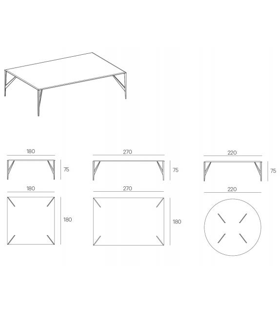Saetta Henge Table