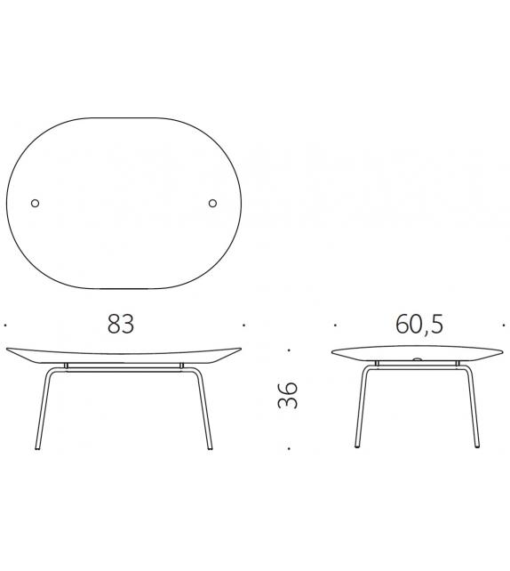 Betulla DePadova Table Basse
