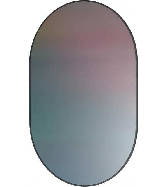 Mirror Oval Studio Roso Fritz Hansen Specchio