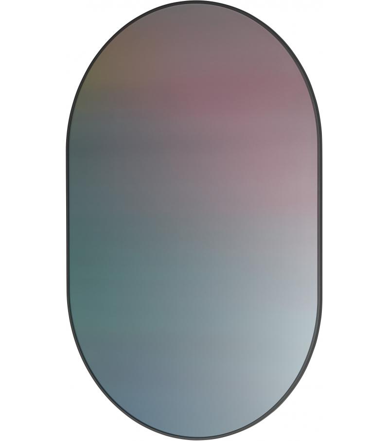 Mirror Oval Studio Roso Fritz Hansen Espejo