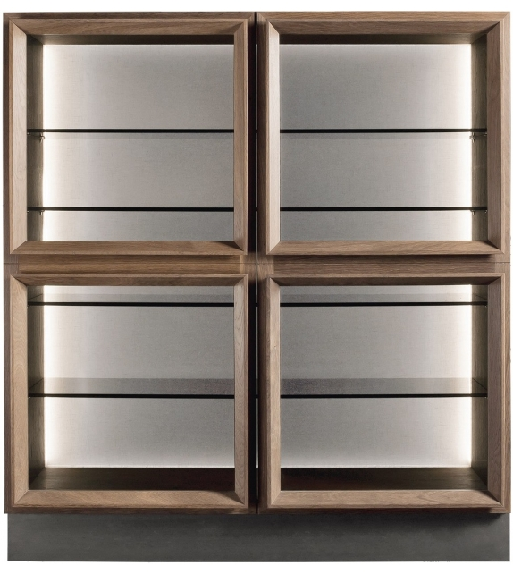 Henge SQ-Case Glass Cabinet