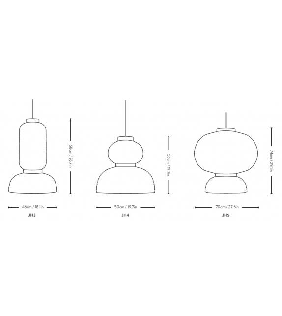 Formakami &Tradition Lámpara de Suspensión