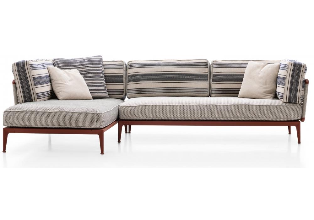 b b italia outdoor ribes sofa