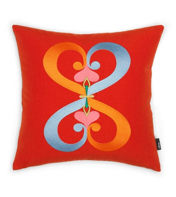 Embroidered Pillows Vitra Coussin