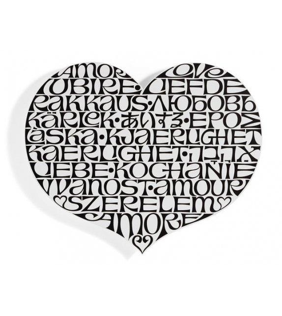Metal Wall Relief International Love Heart Vitra Decoración