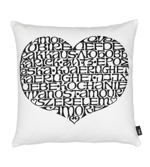 Graphic Print Pillows International Love Heart Vitra Cojin
