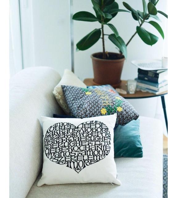 Vitra Graphic Print Pillows International Love Heart
