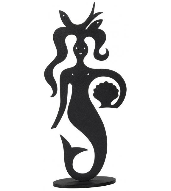 Silhouette Mermaid Vitra Escultura