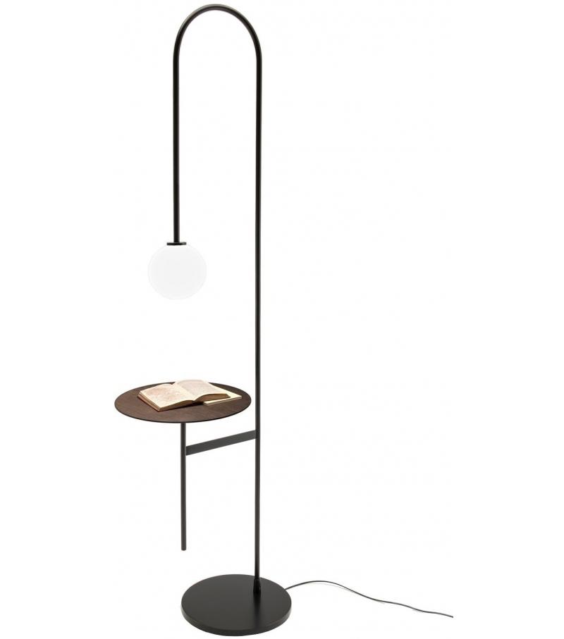 Light With a Table Living Divani Lámpara de Pie