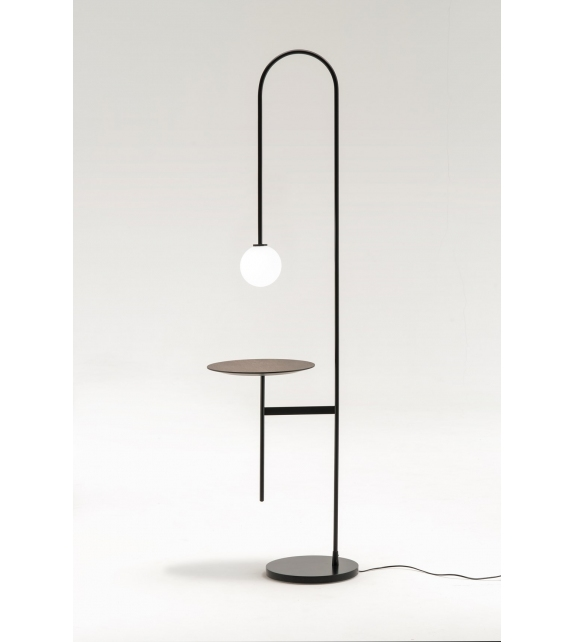 Light With a Table Living Divani Stehleuchte