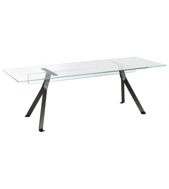 Mari Cristal Table Glas Italia