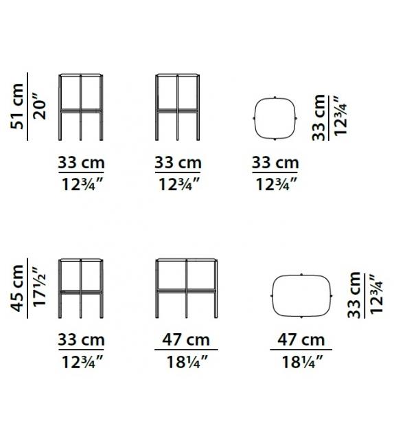 Baxter Tetris Side Table