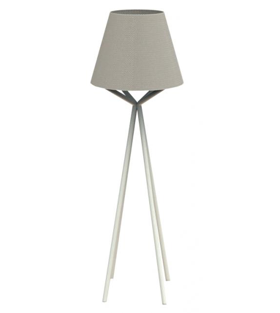 Cleo Teak Talenti Floor Lamp