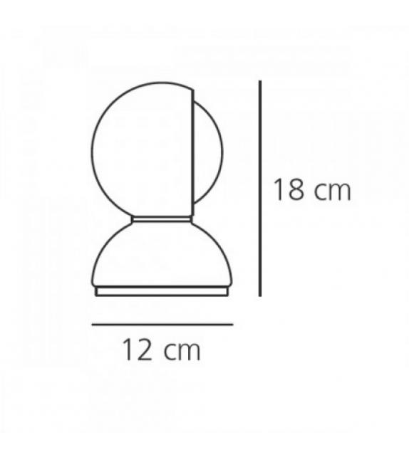 Prêt pour l'expédition - Eclisse Artemide Lampe de Table