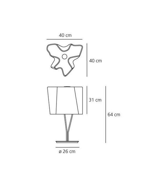 Pronta consegna - Logico Artemide Lampada da Tavolo
