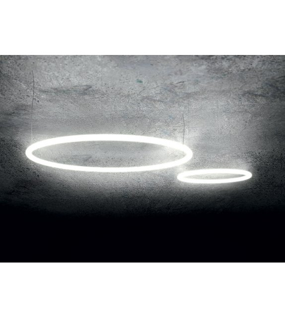 Ready for shipping - Alphabet of light Artemide Suspension Lamp