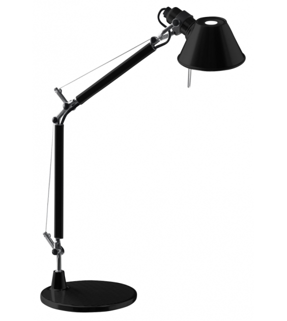 Ready for shipping - Artemide Tolomeo Micro Table Lamp with Base