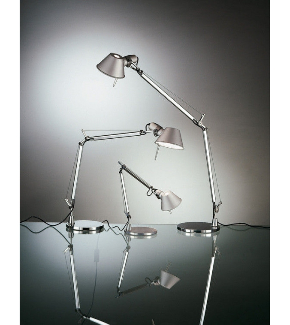 Prêt pour l'expédition - Tolomeo Micro Artemide Lampe De Table avec Base