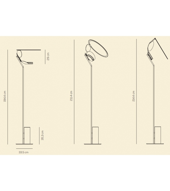 Cut Axo Light Floor Lamp