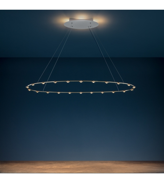Petites Lentilles Suspension Lamp Catellani&Smith