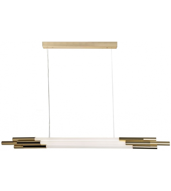 Org Horizontal DCW Éditions Suspension Lamp