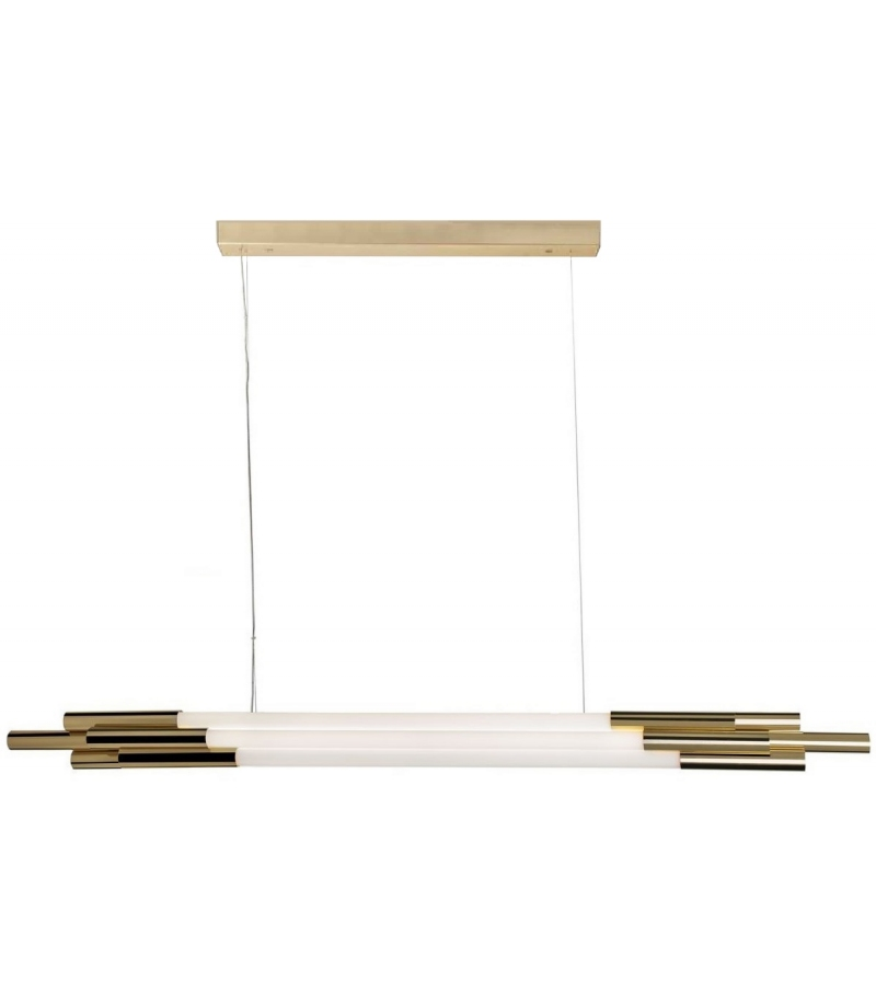DCW Éditions Org Horizontal Suspension Lamp