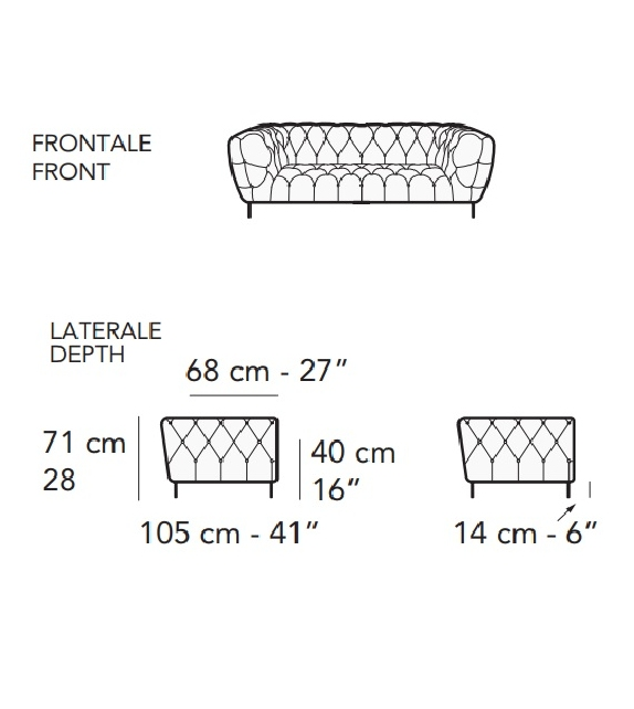 Duomo Nicoline Sofa