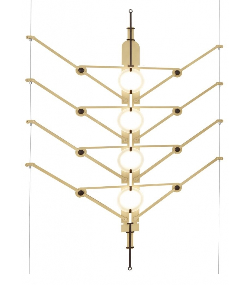 DCW Éditions VVV Module Vertical Suspension Lamp