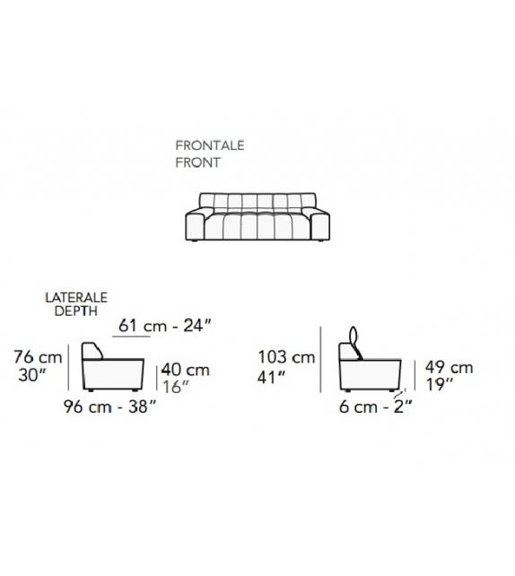 Sofa Nicoline Bric