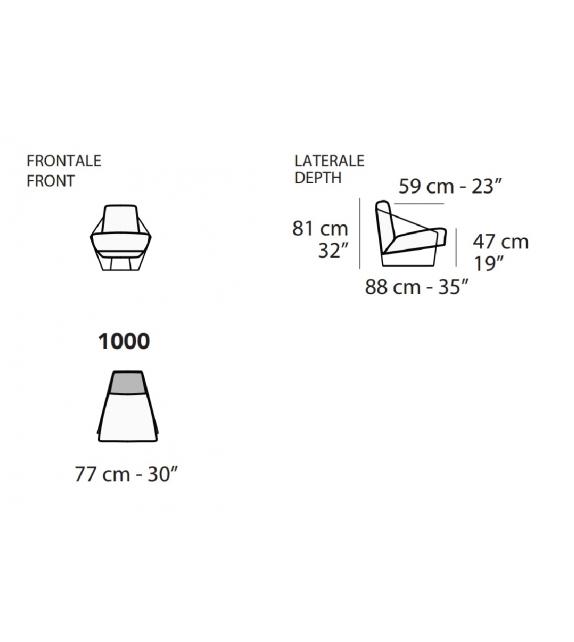 Moscova Nicoline Armchair