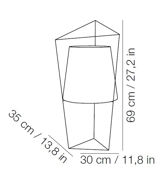 Tatu Kundalini Lampe de Table